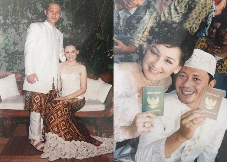Simpan Kenangan, Intip Yuk 12 Foto Lawas Pernikahan Artis Ini
