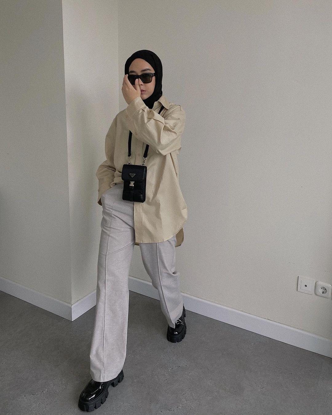 Ide OOTD Hijab yang Bisa Kamu Coba di Tahun 2021