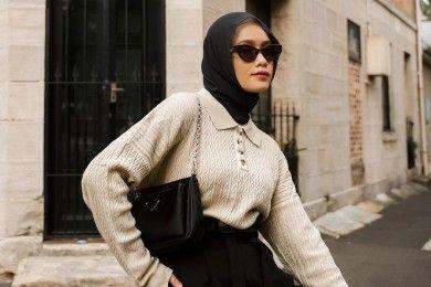 Ide OOTD Hijab Bisa Kamu Coba Tahun 2021