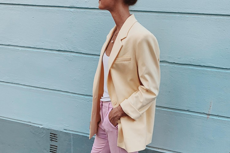 Bakalan Trend! Ini Dia Inspirasi OOTD Warna Sorbet Pastel