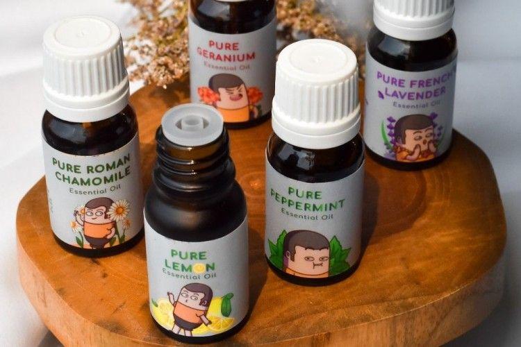 Capsen Essential Oil, Bikin Raga Sehat dan Jiwa Tenang