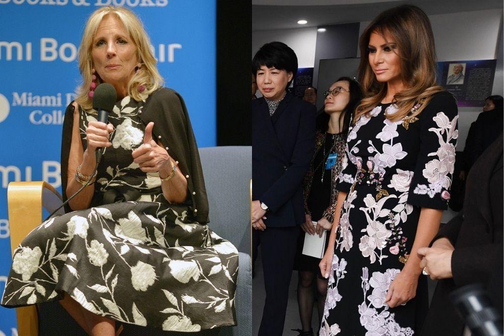 Adu Pesona Jill Biden vs Melania Trump, First Lady yang Bikin Terpana