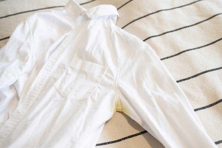 Cara Menghilangkan Noda Kuning di Pakaian