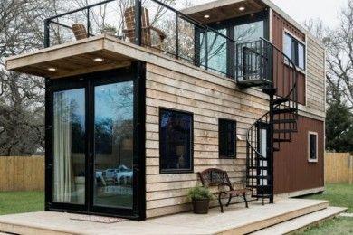 10 Inspirasi Desain Rumah Kayu Minimalis Menawan