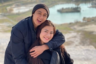 Romantis 10 Momen Bulan Madu Felicya Angelista & Hito Caesar Turki