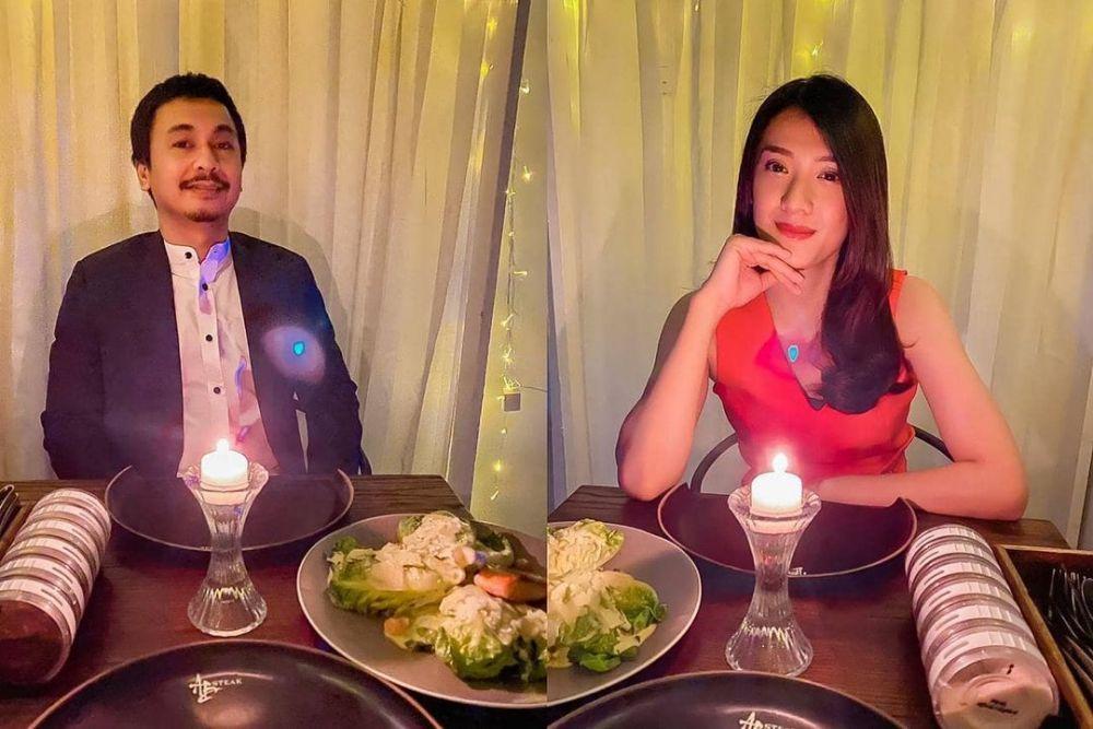 Bikin Baper! 10 Momen Artis Saat Makan Malam Romantis Bareng Pasangan