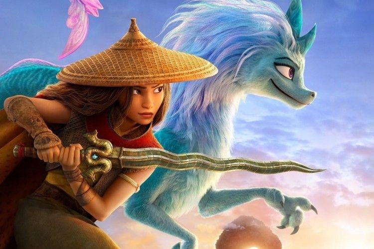 Disney Umumkan 11 Artis Pengisi Suara 'Raya and The Last Dragon'