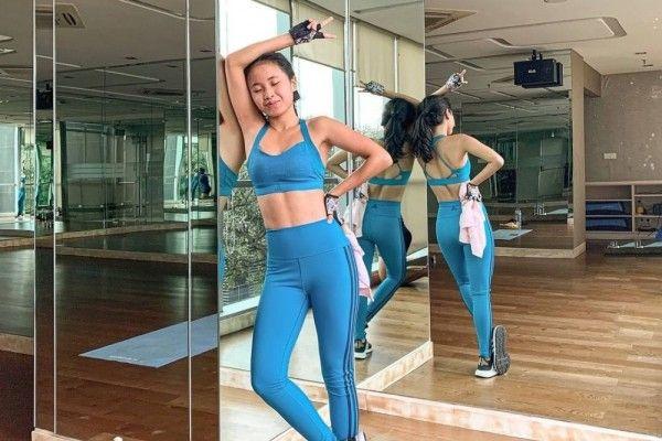 7 Potret Body Goals Ayya Retina, Pemain ART di Sinetron 'Ikatan Cinta'
