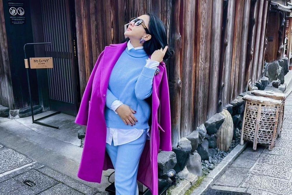 Intip Pesona Syahrini Pulang Kampung ke Jepang, Cetar Abis!
