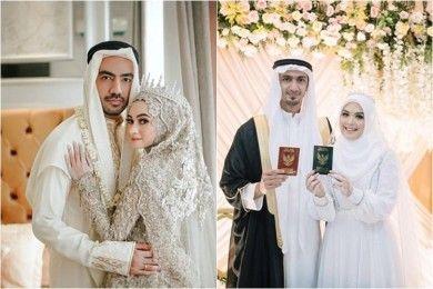 Curi Perhatian, 7 Artis Ini Gelar Pernikahan Bernuansa Arab