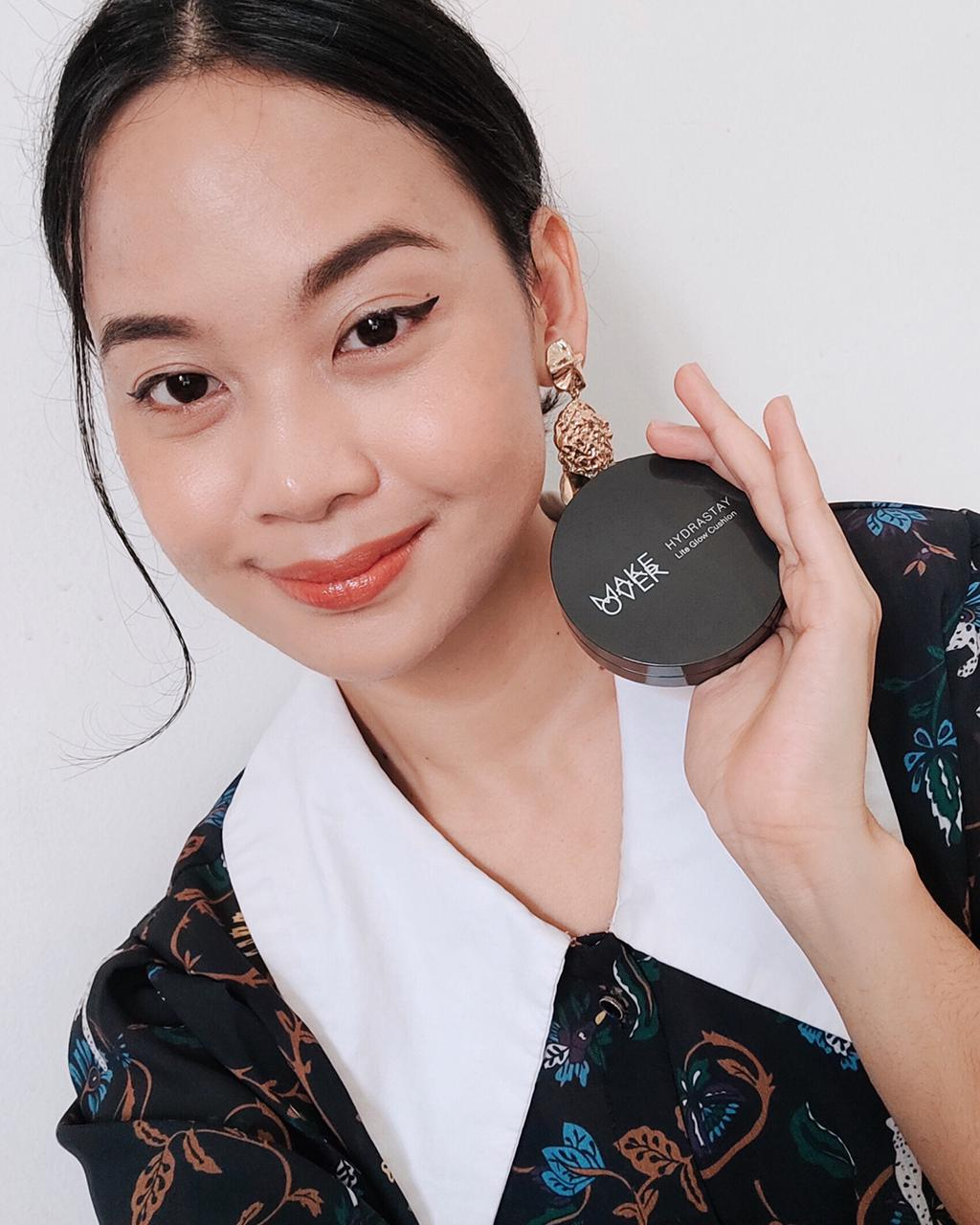 Review: Make Over Hydrastay Lite Glow Cushion, Sahabat Kulit Kering
