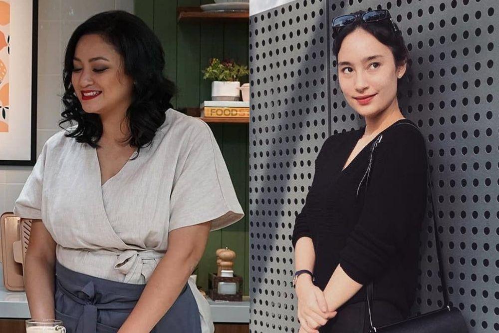 Adu Pesona Agni Prastitha vs Tatjana Saphira, Mantan Herjunot Ali