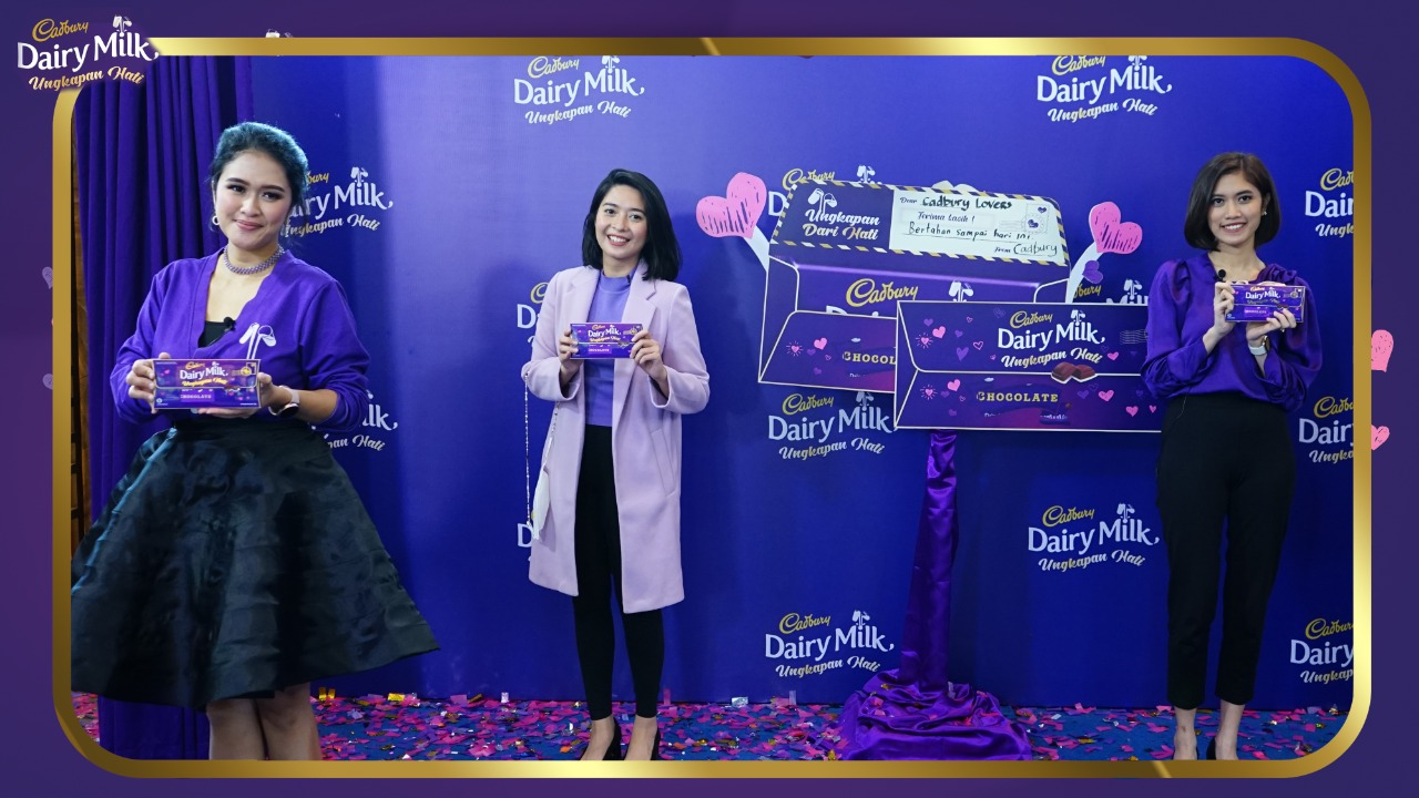 Sambut Valentine, Ungkapkan Perasaanmu Lewat Kemasan Baru Cadbury