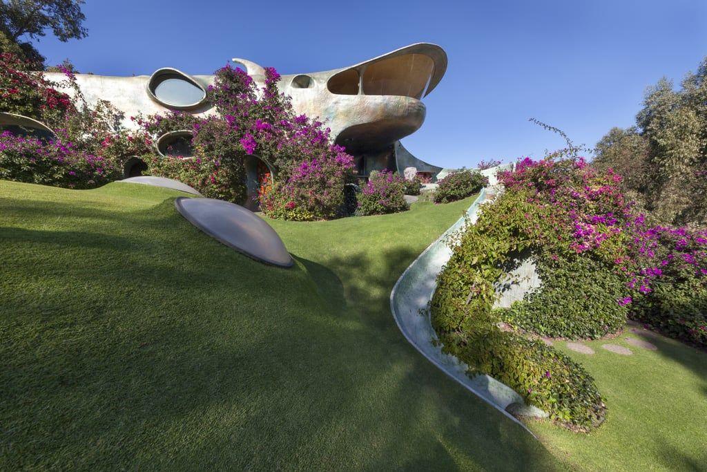 La Casa Orgánica, Potret Rumah Unik yang Menyatu dengan Alam