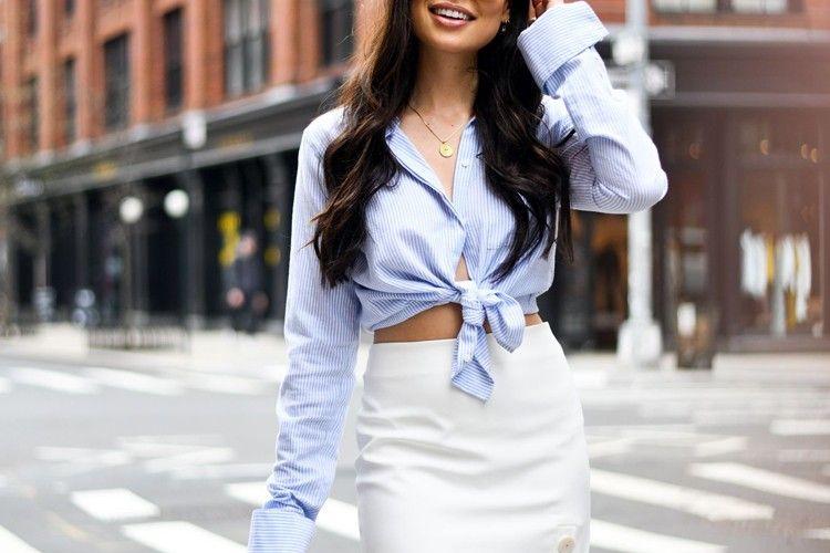 Ciptakan Nuansa Clean Look dengan Rok Putih
