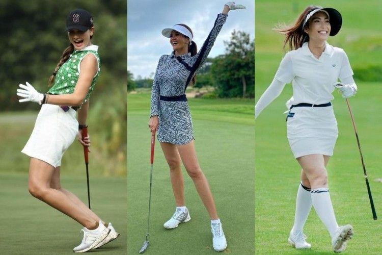 Deretan Potret Seleb Bermain Golf, Mewah dan Berkelas!