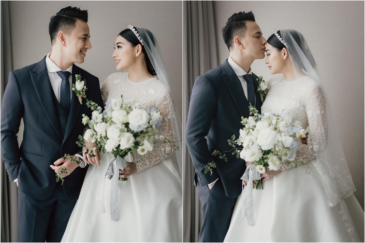 Tunda Ciuman, Ini 7 Fakta Pernikahan Billy Davidson & Patricia Devina