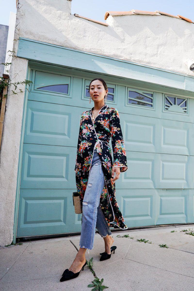 Lebih Girly dengan Inspirasi Padu-padan Wrap Dress
