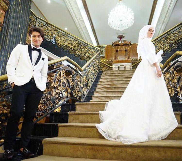 Dari PDKT Hingga Bak Pre-Wedding, 10 Pemotretan Lesty dan Rizky Billar
