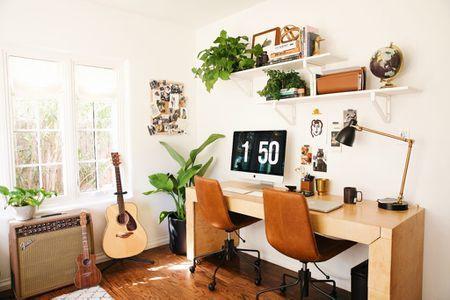 8 Inspirasi Desain Ruang Kerja Minimalis, Kerja Semakin Semangat