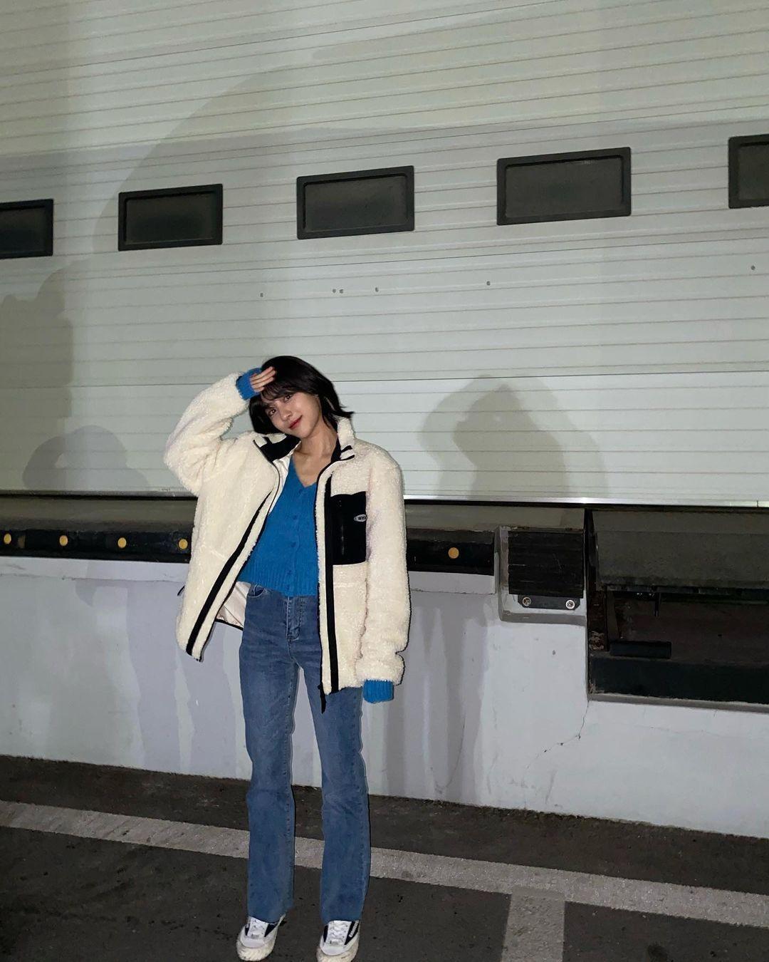 Intip Gaya Kang Min Ah, Aktris yang Ikut Eksis Berkat True Beauty