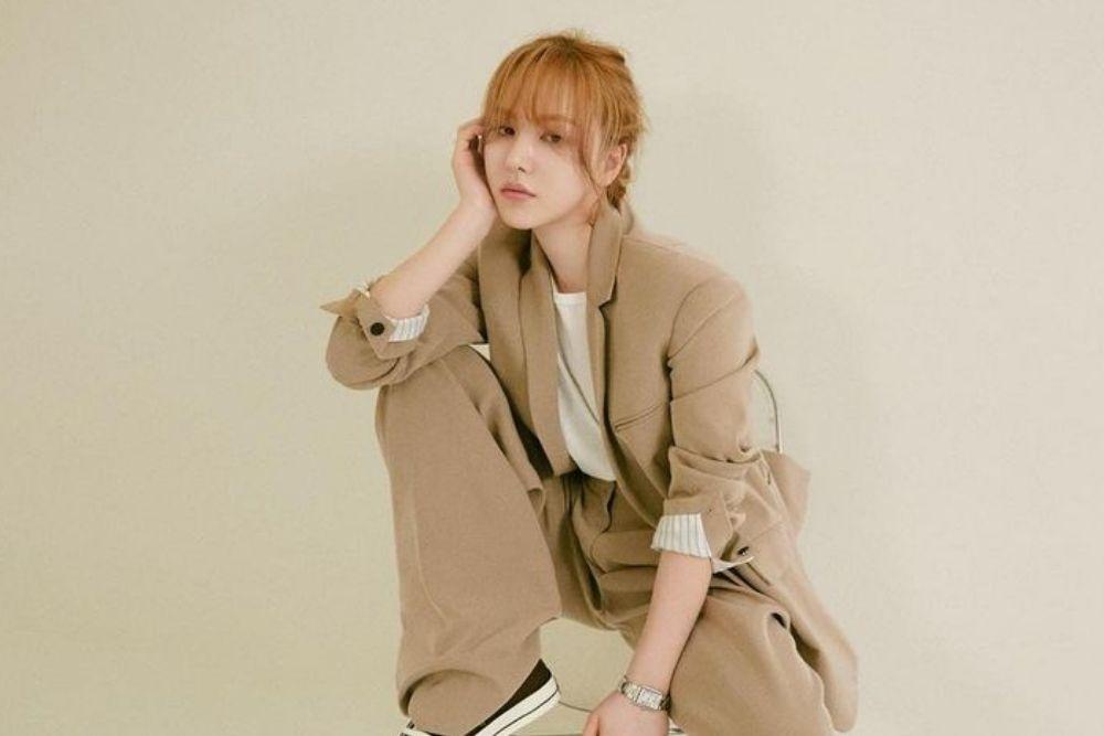 Dijuluki Idol Berhati Mulia, Intip Potret Chic Wendy 'Red Velvet'