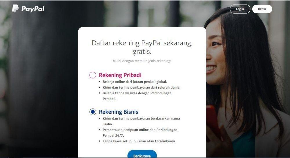 Mempermudah Transaksi Online, Ini Cara Membuat Akun PayPal