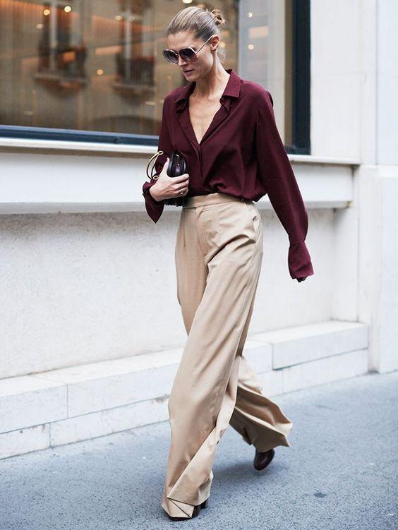 Tampil Elegan dengan Celana Palazzo