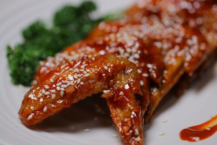 Resep Chicken Wings Madu a la Korea, Bisa Jadi Camilan, Nih!