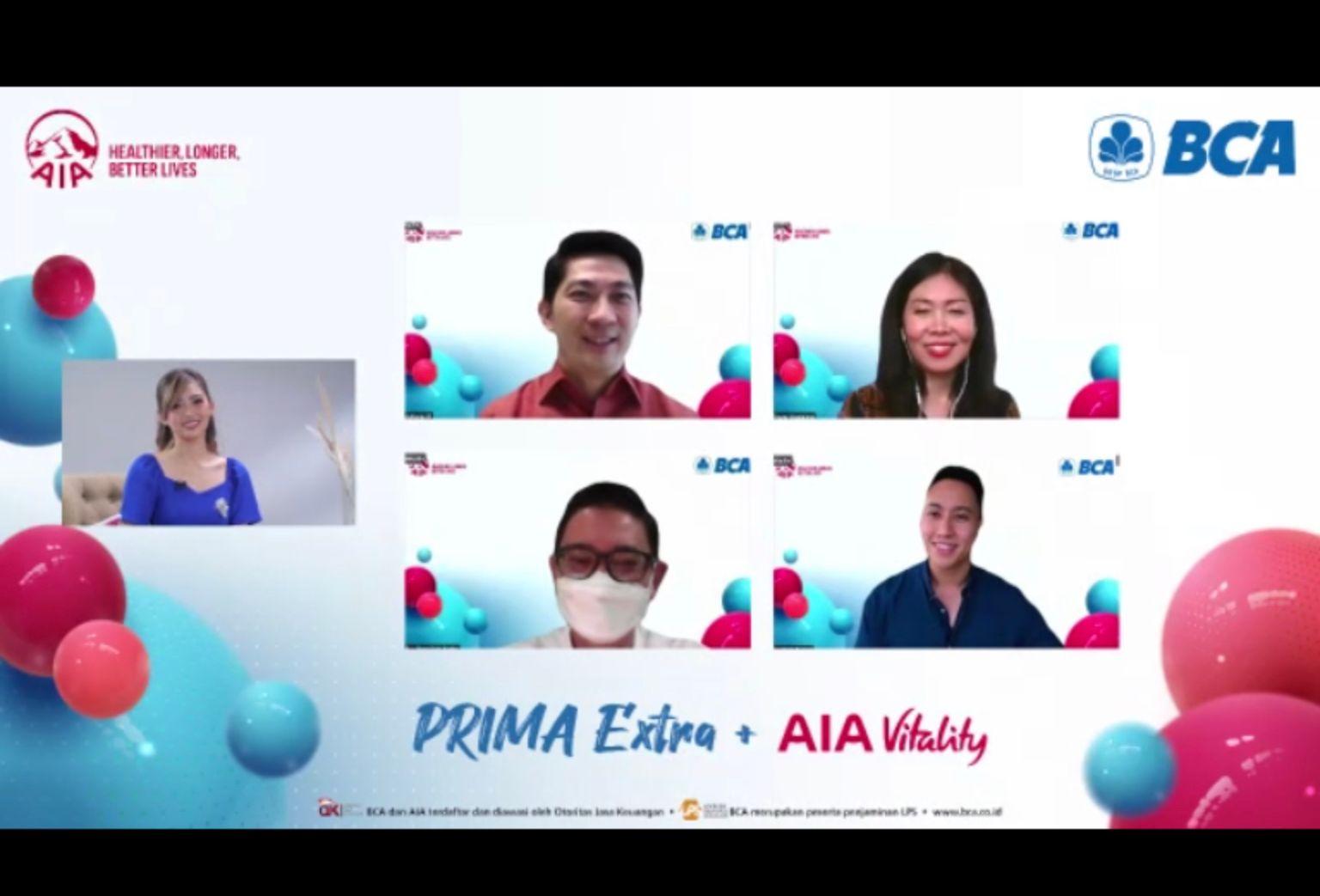 Gandeng BCA, AIA Upgrade AIA Vitality untuk Tangani Penyakit Serius