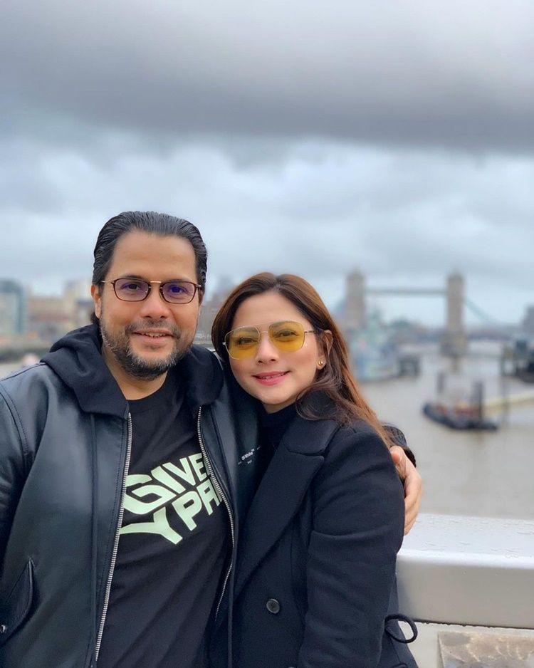 15 Tahun Jadi Istri Kedua, Intip 9 Kemesraan Cut Keke dan Suami