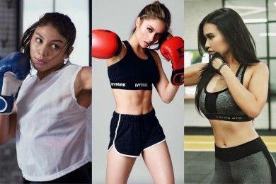 Seksi Sekaligus Bugar, Intip Aksi Seleb Ketika Olahraga Bela Diri