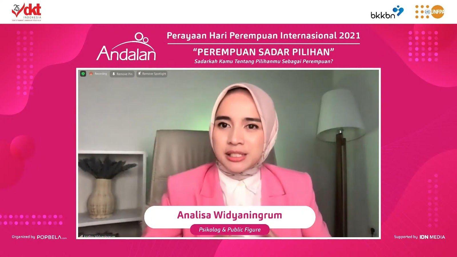 DKT Indonesia Ajak Perempuan Sadar Pilihan Di Hari Perempuan Dunia