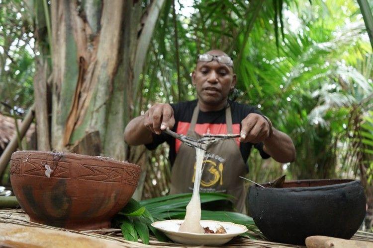 Makanan Pokok Kaya Manfaat, Ini 9 Fakta Unik Papeda Papua