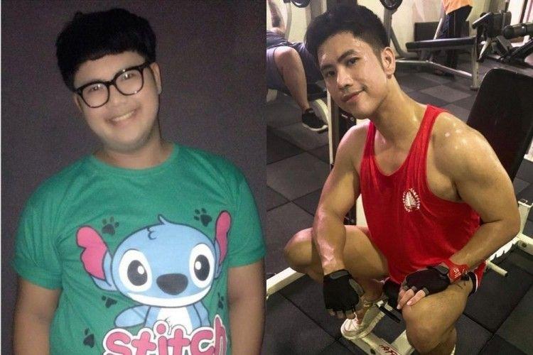 Transformasi Seleb Pria yang Berhasil Jalankan Diet