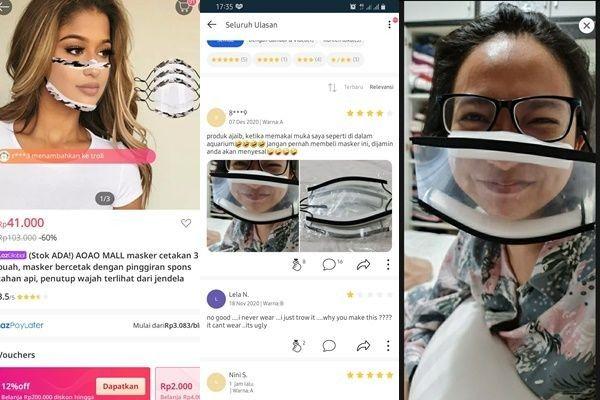 10 Potret Pelanggan Online Shop saat Coba Barang, Bikin Ngakak