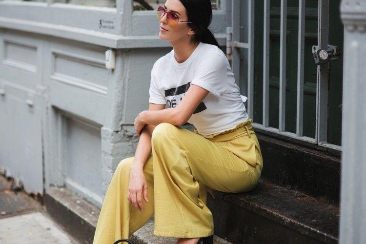 Inspirasi Pakai Celana Palazzo untuk Sehari-hari
