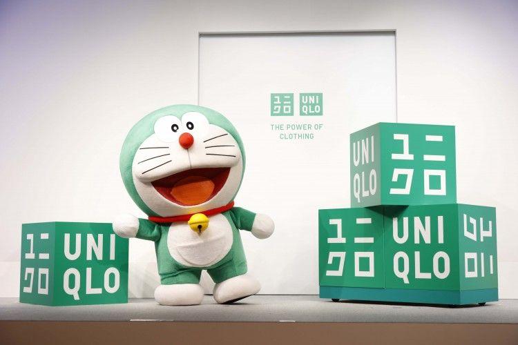 UNIQLO Menunjuk Doraemon Hijau sebagai Duta Global Sustainability