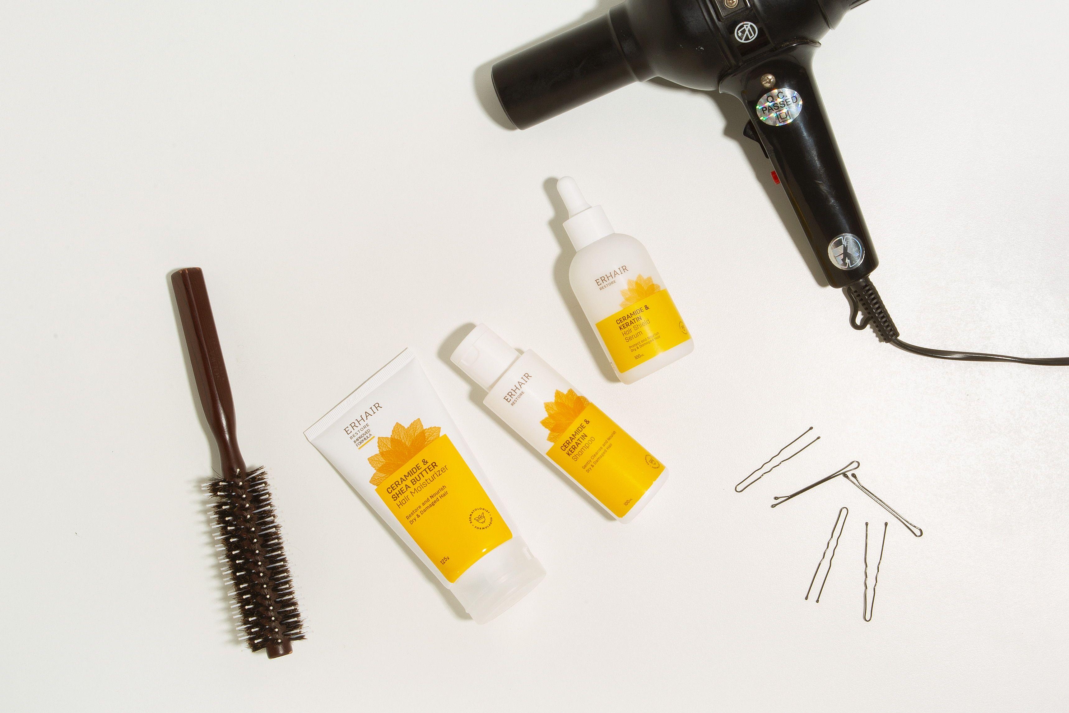 Hair Styling Jadi Kebutuhan, Serum Rambut Anti Panas Wajib Dibutuhkan!
