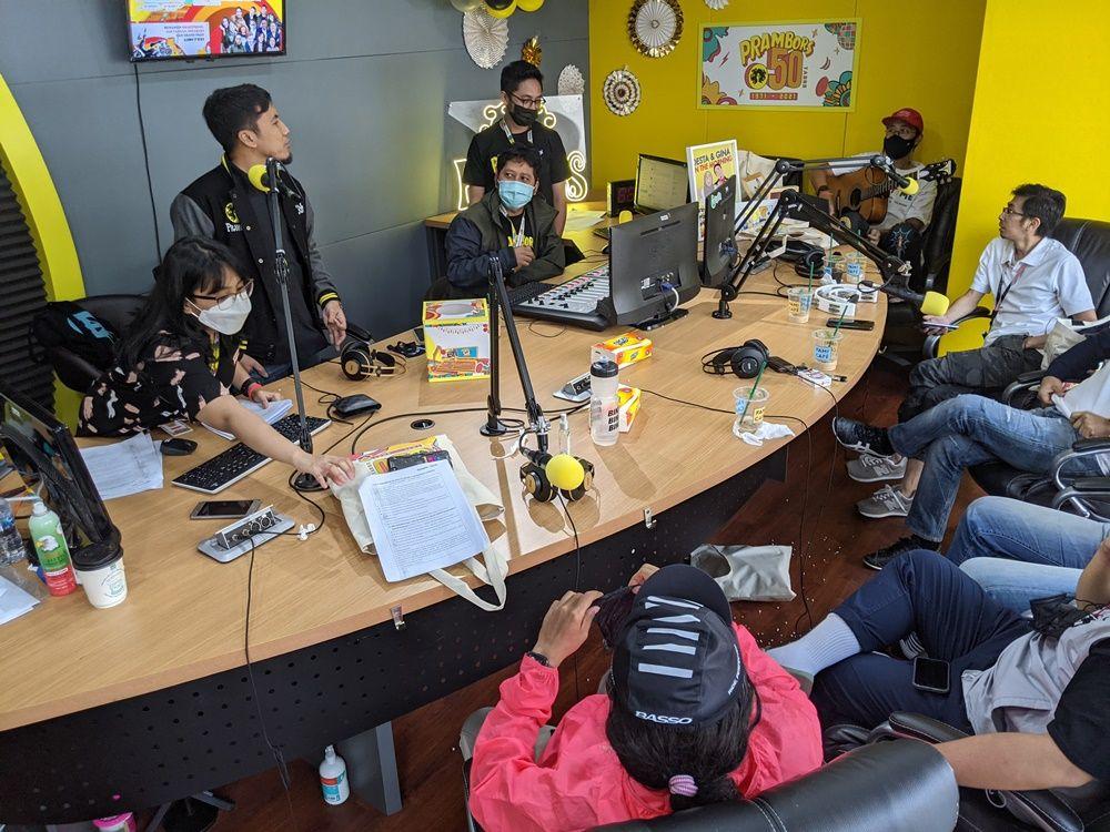 5 Dekade Radio Prambors,  Terdepan di Industri Kreatif Brand Anak Muda