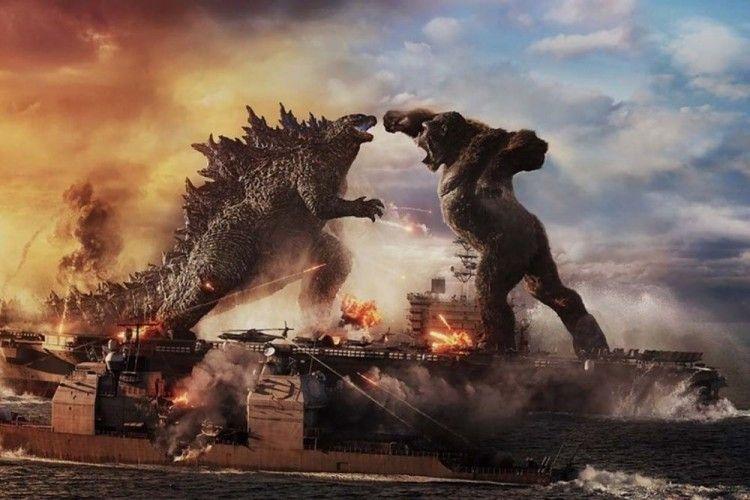 Sudah Hadir di Bioskop, Ini 7 Fakta Keseruan Godzilla vs. Kong