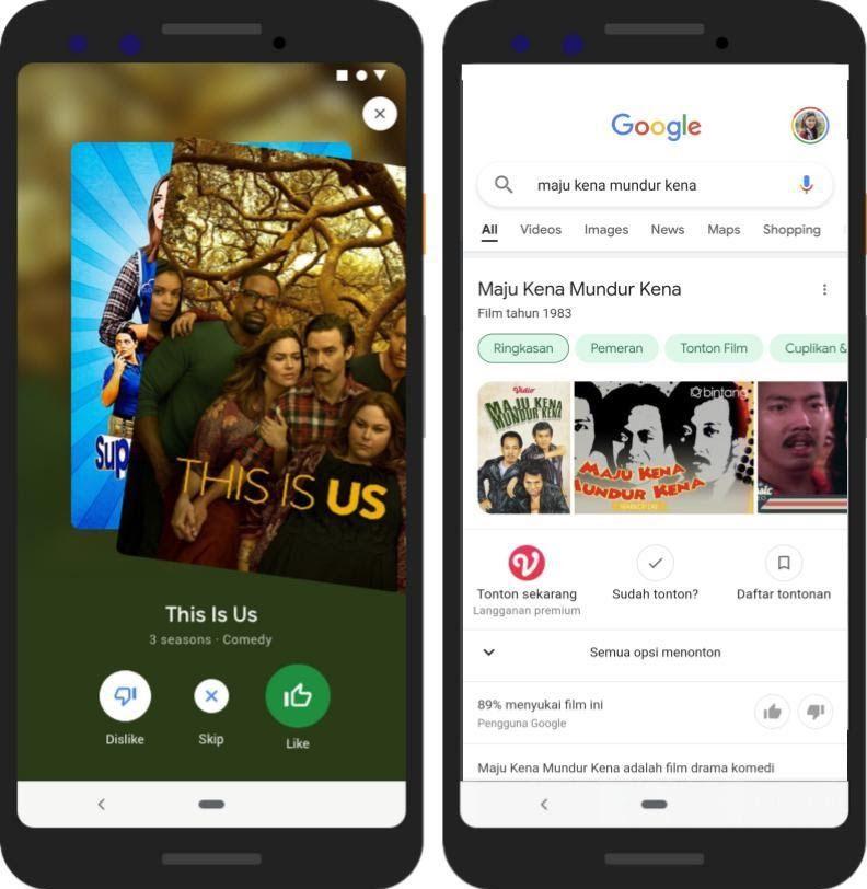 Sambut Hari Film Nasional, Google Hadirkan Fitur Pencarian Film Lokal