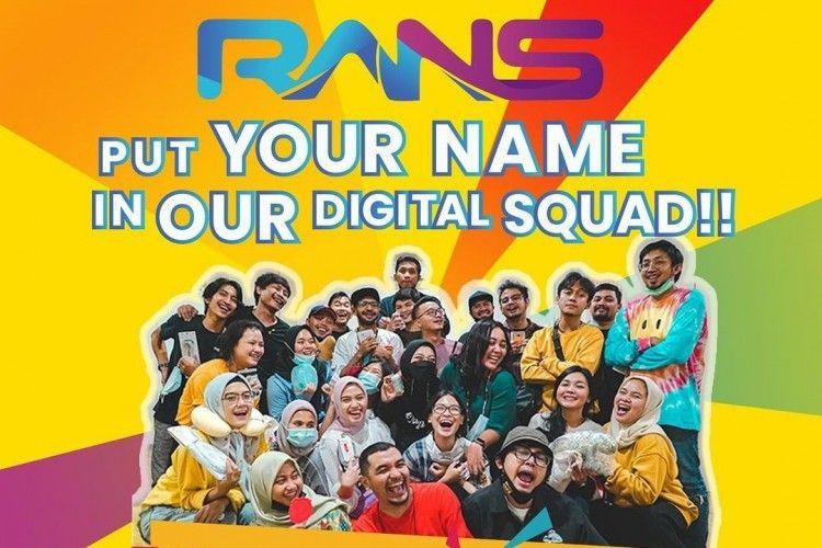 Pendidikan Minimal SMA, Ini Lowongan Kerja di RANS Entertainment