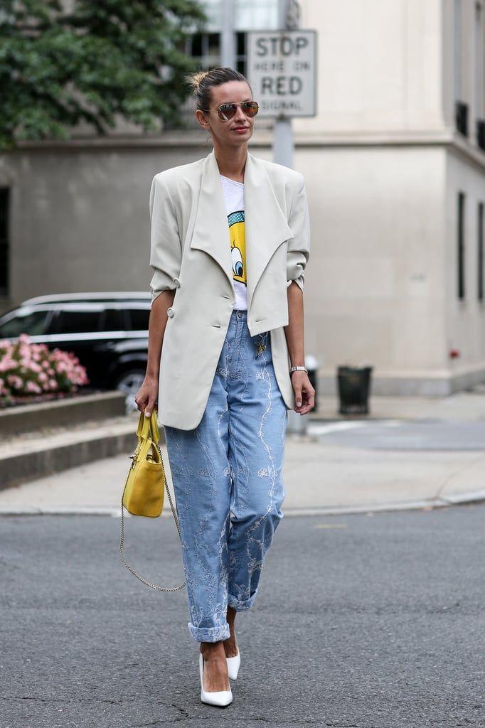 Inspirasi Padu-padan Boyfriend Jeans untuk Outfit Hangout yang Chic