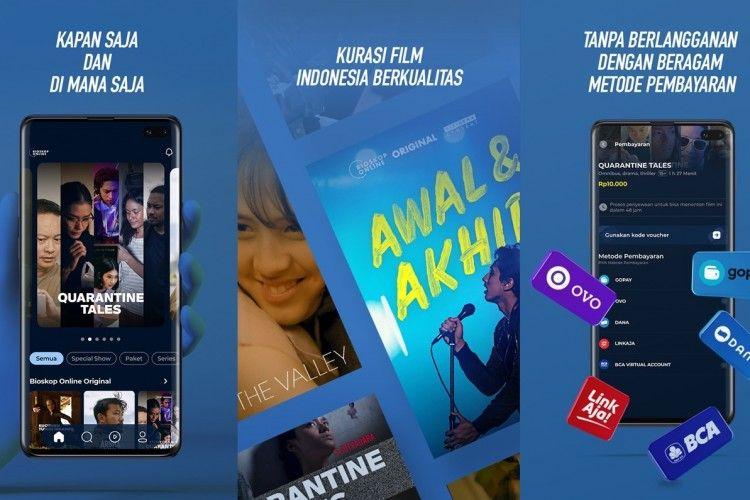 Baru! Aplikasi Bioskop Online, Hadirkan Film Indonesia dalam Genggaman