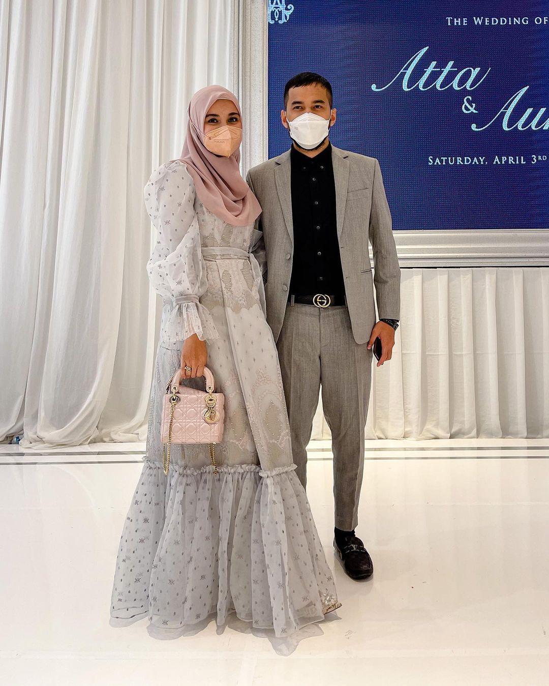 Gaya Artis yang Hadiri Pernikahan Atta - Aurel, Nggak Kalah Mewah!