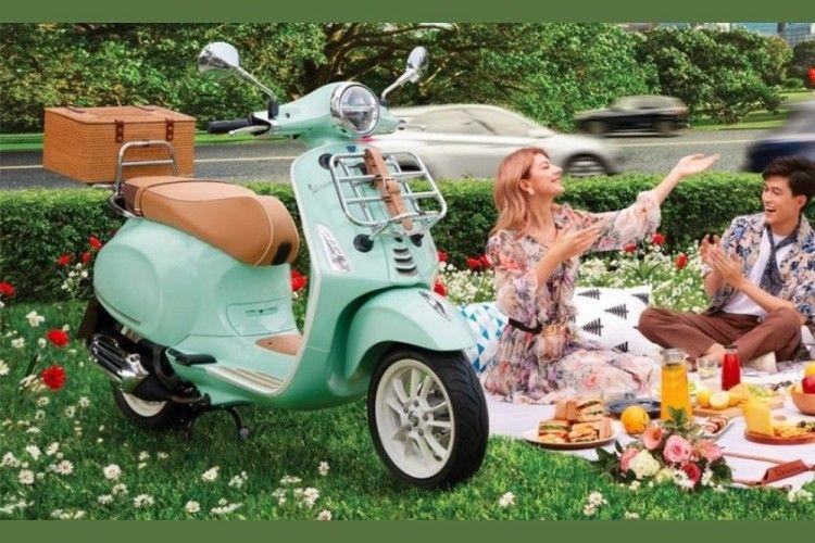 Menggemaskan! Ini Vespa Primavera Pic Nic Buat Kamu yang Chic