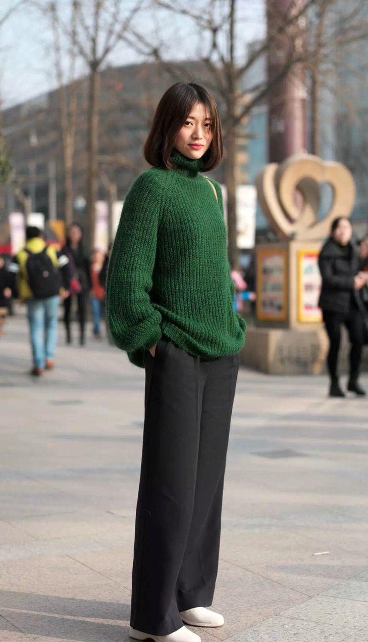 Tips Padu-padan Knitwear a La Perempuan Modis Korea Selatan