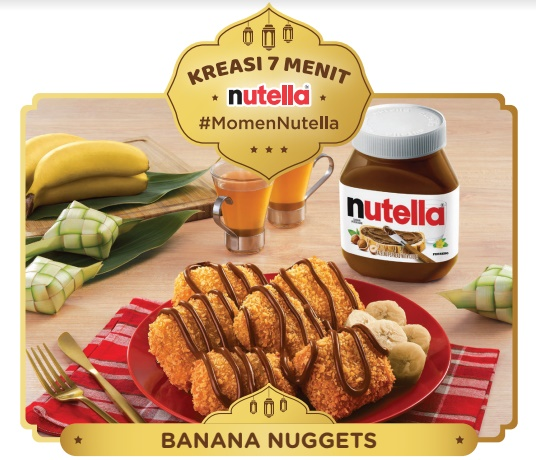 4 Resep Praktis dari Nutella yang Cocok untuk Buka Puasa