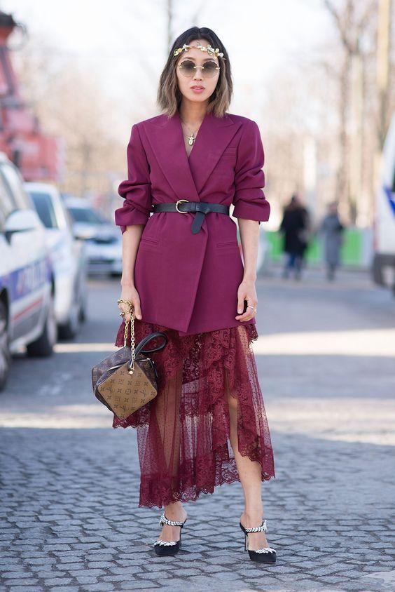 Kombinasi OOTD Mewah Pakai Dress dan Outer